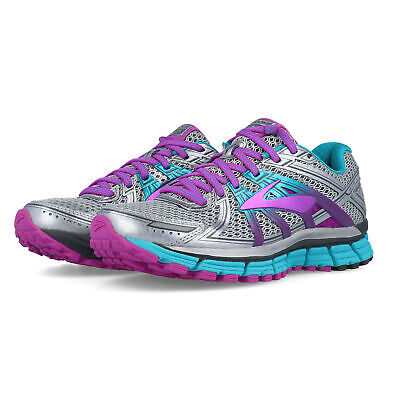 257f2e6e3d7 Brooks Womens Adrenaline GTS 17 Running Shoes Trainers Sneakers Blue Grey  Purple