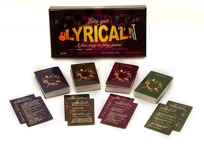 Lets Get Lyrical - The Adult Party Drinking Game Christmas Party Fun - GA3031