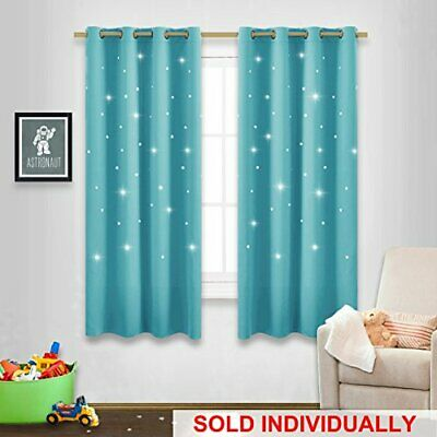 Exceptional NICETOWN Kids Room Darkening Curtains 63   Sky Wonder Star Cut Out  Functional Dr