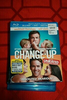 Change - Up (Dvd Only)- New - Open Package - Bluray Case With Slipcover!!