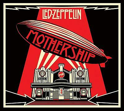 LED ZEPPELIN - MOTHERSHIP THE VERY BEST OF 2CDs & DVD DELUXE EDITION (New/Sealed