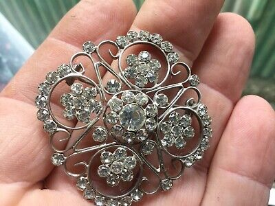 Large Silver Brooch/Not Dug Up