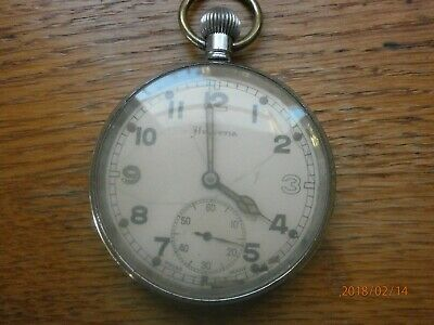 Helvetia Military Pocket Watch