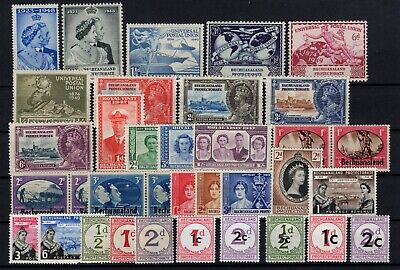 P106518/ British Bechuanaland / Lot 1932 – 1961 Neuf * / Mh Complete 107 €