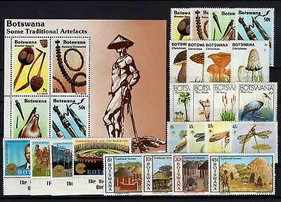 P106523/ Botswana / Y&t # 447 / 450 – 469 / 488 + Bf16 Neufs ** / Mnh Complete