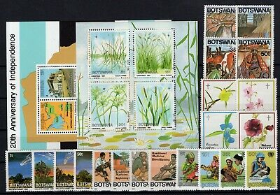 P106526/ Botswana / Y&t # 528 / 547 + Bf19 / Bf20 Neufs ** / Mnh Complete