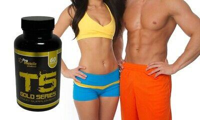 T5 Gold Fat Burners - Strongest Diet Pills Extreme Weight Loss Slimming