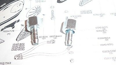 PETROL TAP NUT AND SPIGOT 1/4 BSP BSA A10 rgs goldstar TRIUMPH NORTON