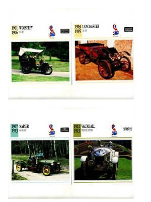 Vintage Car Collector Cards Non-sport Trading Cards