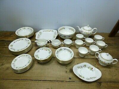Job Lot Of Wedgwood Mirabelle Tableware Tea Set *COLLECTION ONLY* #6E