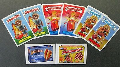 2018 Garbage Pail Kids 4th Of July Complete Set with 8 cards GPK Wacky Packages