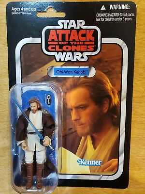 NEW - Star Wars Vintage Collection VC 31 Obi-Wan Kenobi Attack of the Clones