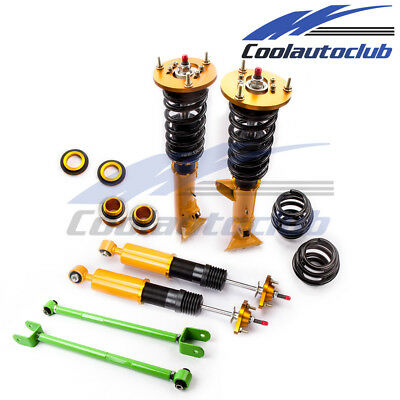 Adj. Damper Coilover For BMW E36 M3 3 Series 1992-1997 Shock Absorber with arms