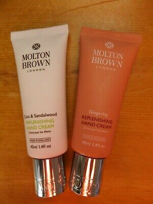 Molton Brown Gingerlily And Coco & Sandalwood Replenishing Hand Cream