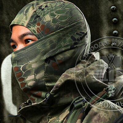 Boa Style Tactical Military Hunting Outdoor Quick-drying Hood Face Mask