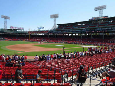2 Tickets Detroit Tigers @ Boston Red Sox 4/22/19 Fenway Park Boston, MA