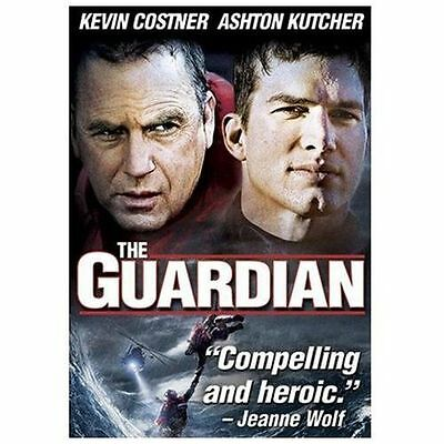 The Guardian (DVD, 2007) STARRING ASHTON  KUTCHER AND KEVIN COSTNER,DVD CASE INC