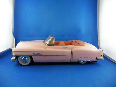 Blechauto / Tin Toy      50´s Fiftis   Cadillac Convertible / Cabrio    -  Japan