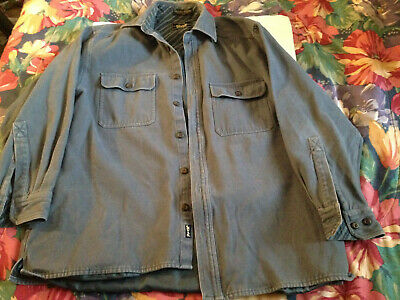 Vintage mens  LEVI'S Long Sleeve Shirt levi Strauss Medium Rare!!
