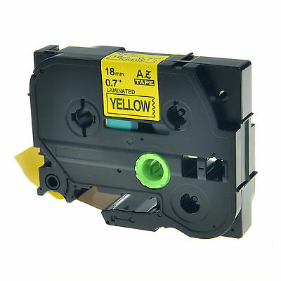 """1PK TZ-641 TZe-641 Black on Yellow Label Tape For Brother P-Touch PT-580C 3/4"""""""