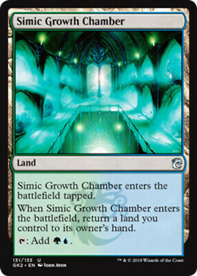 x4 Simic Growth Chamber MTG Ravnica Allegiance Guild Kits M/NM, English
