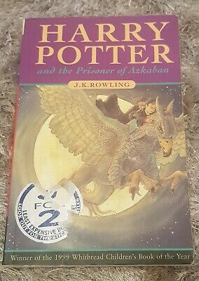 Harry Potter and the Prisoner of Azkaban Paperback 1st Ed Bloomsbury - Rowling