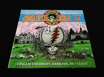 Grateful Dead Dave's Picks Volume 12 Colgate University New York 11/4/1977 3 CD