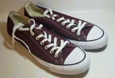 Converse Shoes Chuck Taylor Ox All Star Low Top Canvas Men Sneakers-  Burgundy 3e93937d5