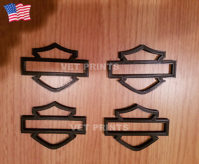 Harley Touring Sheild Emblems for Gas Tank - CVO tank emblem