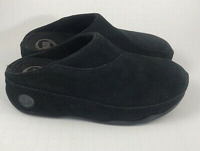 a8abf42deaf7  100 FITFLOP WOMENS Loaff Suede Clog Slip On Shoes