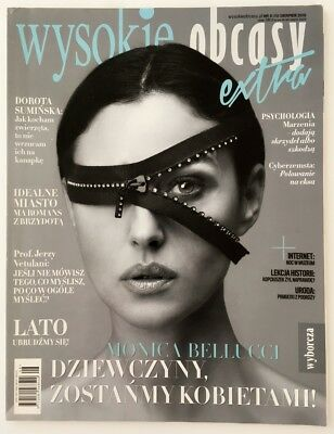 MONICA BELLUCCI on front cover Polish Mag. Wysokie Obcasy Extra  8/2015 (Monroe)