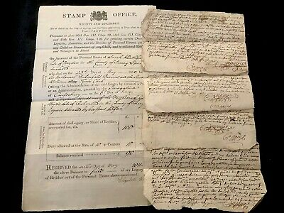 Lot Of Handwritten Manuscripts 1700-1800s