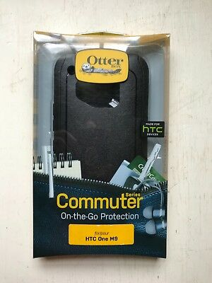 New in box genuine OtterBox Commuter phone case for HTC One M9 free ship