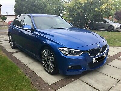 BMW 330D M Sport F30 Estoril Blue
