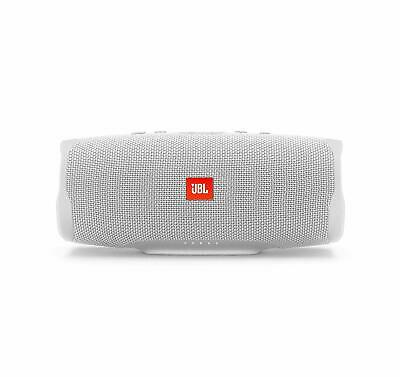 JBL Charge 4 White Portable Bluetooth Speaker