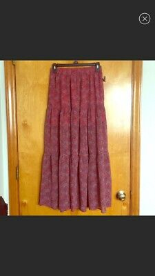 e3fdd3a62 MAURICES PEASANT PATTERNED Maxi Skirt Size Small NWT - $9.99 | PicClick