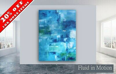 60x40 Original ex Large abstract painting wall art deco by Elsisy DB
