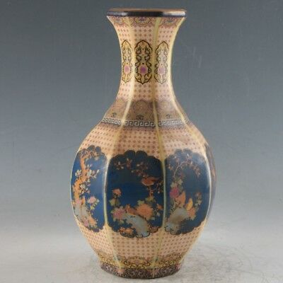 Chinese Enamel Porcelain Hand Painted Vase Made During The Qianlong Period FLC10