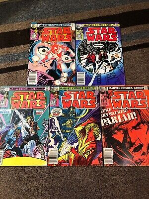 Star Wars Comic Lot 62, 63, 71, 72, 75