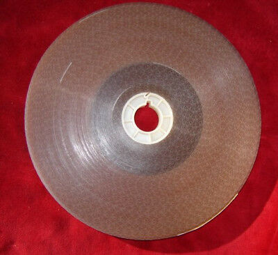 16mm clear acetate film leader single perforation - 1000'