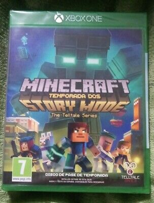 Minecraft Story Mode Temporada dos NUEVO pal España spa esp xbox one season 2
