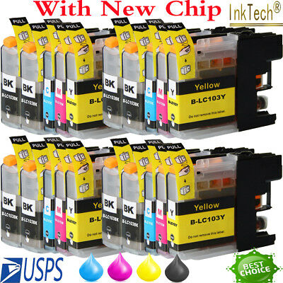 20 PK LC103XL Ink Cartridge For Brother LC-103 MFC-J470DW MFC-J475DW MFC-J870DW