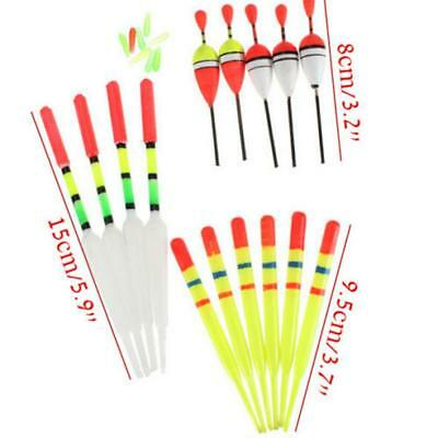 Quality 15 Pcs Assorted Course Carp Fishing Float Tackle Set & Rubbers Fishing #