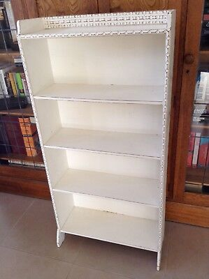 Antique Vintage Timber Bookcase/display Shelf - Shabby Chic French Country.