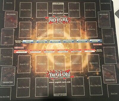 Yu-Gi-Oh!: Classic Official 2 Player Double Rubber Playmat w/ Pendulum Zones NEW