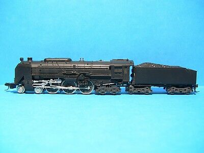N SCALE - 1 x KATO (JNR) C62 4-6-4 steam loco with MTL couplings both ends.