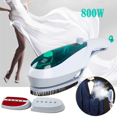 800W Handheld Clothes Steamer Brush Portable Steam Iron Hand Held
