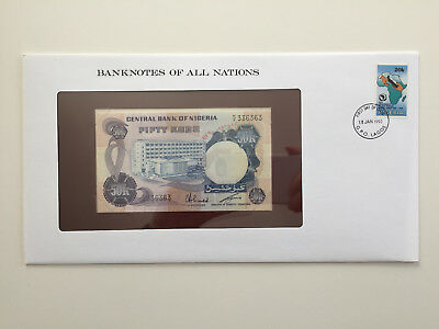 Banknotes of All Nations - Nigeria 50 Kobo UNC