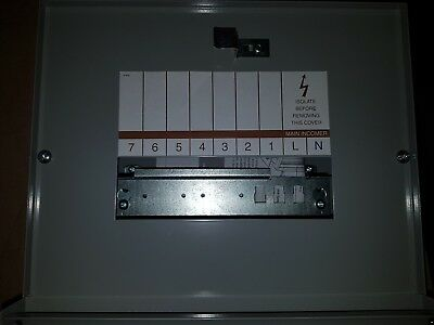 EAM7 Eaton 1 Phase Distribution Board 7 Way 125 A