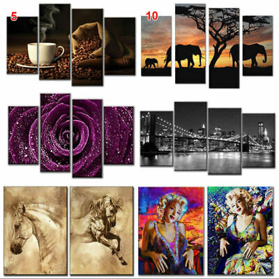 Modern Art Oil Painting Canvas Print Wall Art Unframed Picture Home Wall Decor